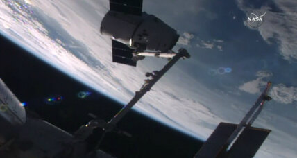 Success! SpaceX Dragon cargo ship nails another mission.
