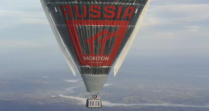 Russian balloonist struggles with sleep on solo nonstop circumnavigation