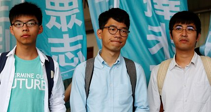 Umbrella Movement student leaders convicted but not conquered, they say