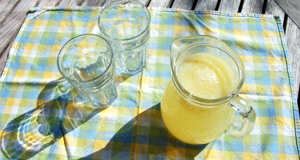 Lemon and orange citrus cooler