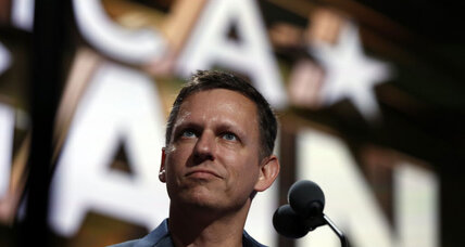 Peter Thiel's presence highlights Republican tension over LGBT voters