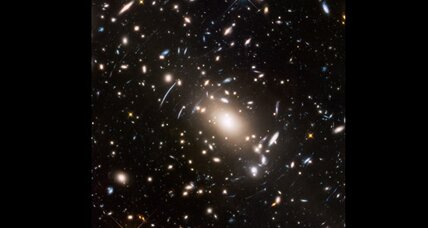 Hubble boldly peers where no man has gone before