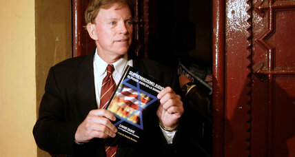 Former KKK grand wizard David Duke launches bid for US Senate