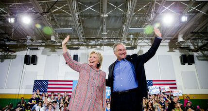 Clinton picks Tim Kaine, devout Catholic and bridge-builder (+video)