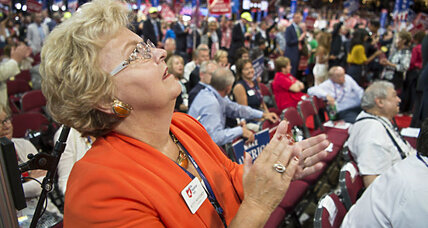 After raucous Trump convention, are GOP wounds healing? (+video)