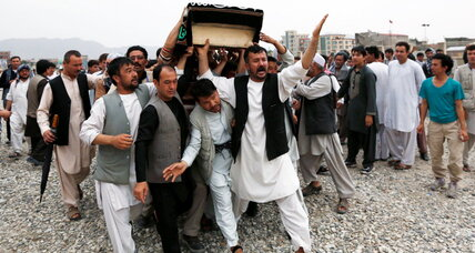 Afghanistan marks day of national mourning after huge attack