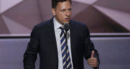 Peter Thiel's 'I am proud to be gay' is a GOP convention first