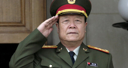 Chinese anti-bribery push sentences former top general to life in prison