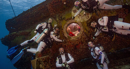 Why is NASA sending its astronauts to the bottom of the ocean?