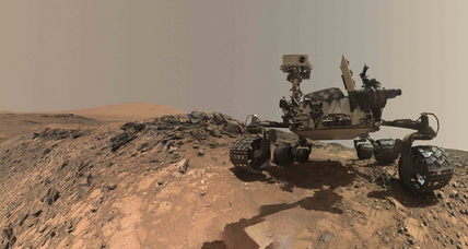 Do these strange Martian rocks hint at life on the Red Planet?