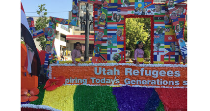 Today's refugees find a place in Utah's Pioneer Day parade