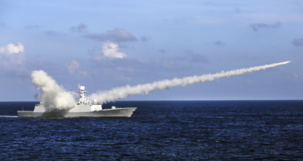 Why has Russia teamed up with China in the South China Sea?