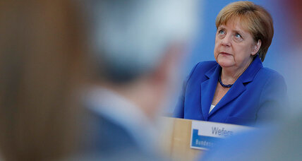 After – or despite – a violent week, Germany still turns to Merkel