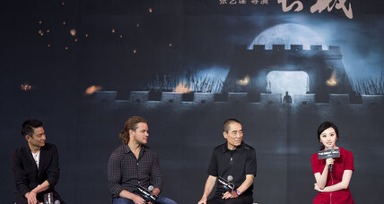 More 'Great Wall' news: China-US film reflects international movie mindset