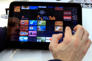 Why you should use your tablet as a phone - CSMonitor.com