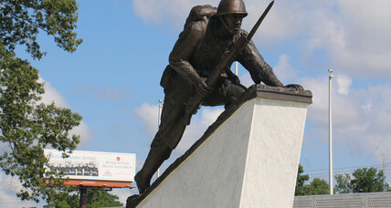 Memorial honors first barrier-breaking, black marines