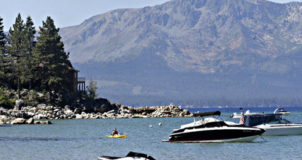 Why is Lake Tahoe getting warmer so quickly?