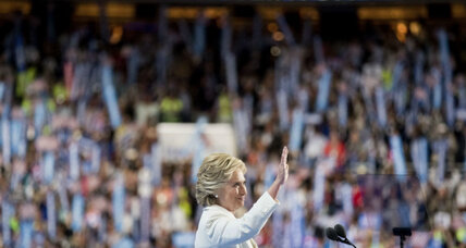 Hillary Clinton makes history – and strives for unity