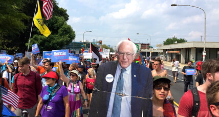 My three days with the Bernie Sanders rebellion