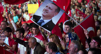 For Turkey's Erdoğan, pivotal point in march to consolidating power