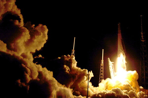 the falcon 9 spacex rocket lifts off from launch complex 40 at the cape canaveral air force station in cape canaveral fla sunday july 17 2016