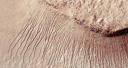 Water didn't carve Mars' gullies. What did?
