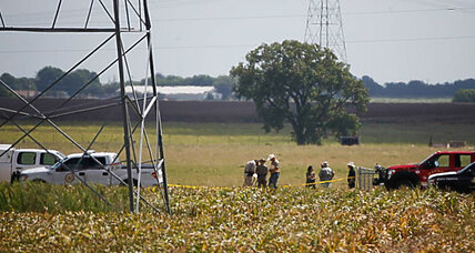 Fatal hot air balloon crash near Austin, Texas