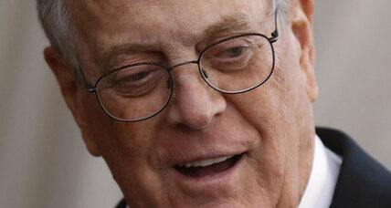 Koch brothers spurn Trump, focusing on down-ticket races