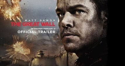 'The Great Wall' trailer: China-US film reflects international movie mindset
