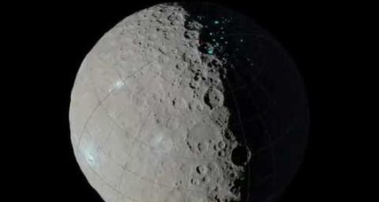 NASA's Dawn space probe maps permanent shadows on Ceres