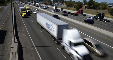 Should trucks and buses have their own speed limits?