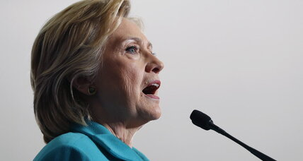 Why Clinton says the controversies are behind her