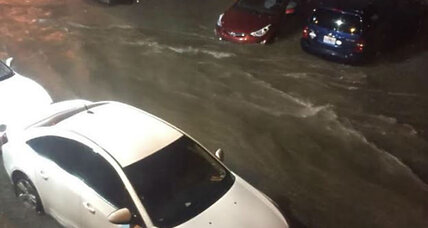 Kansas City hit with flash flood emergency Friday night