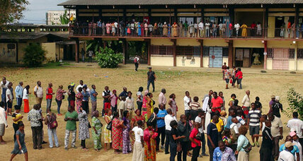 Dueling victory claims in Gabon's presidential election