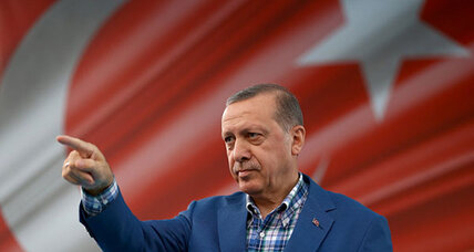 "At rally, Turkey's Erdogan vows to ""destroy terrorists"""