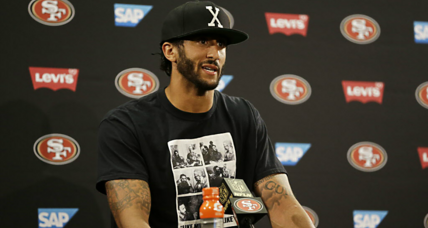 Is Colin Kaepernick the new face of American patriotism? (+video)