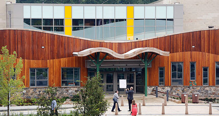 New Sandy Hook School opens on site of Newtown shooting