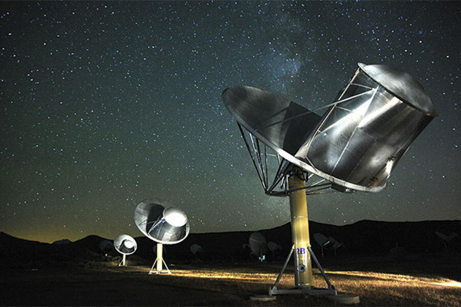 SETI detects mysterious signal from vicinity of sunlike star