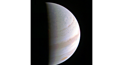 NASA's Juno spacecraft completes its first orbital flyby of Jupiter