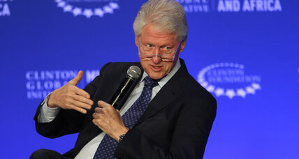 In the Clinton Foundation, Bill sees his post-White House legacy