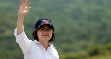 Taiwan's new president sets chilly but pragmatic tone with China