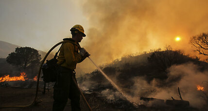 California wildfires: How firefighters are coping with wild weekend