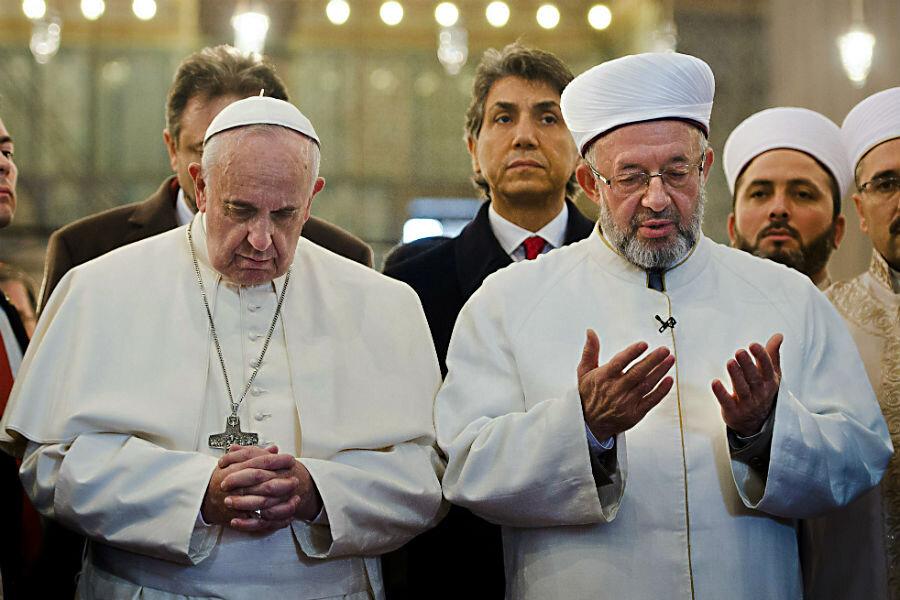 Αποτέλεσμα εικόνας για pope francis and Islam