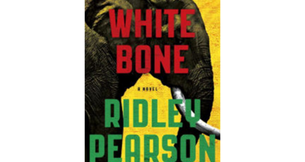 Ridley Pearson says inspiration, passion drove the writing of 'White Bone'