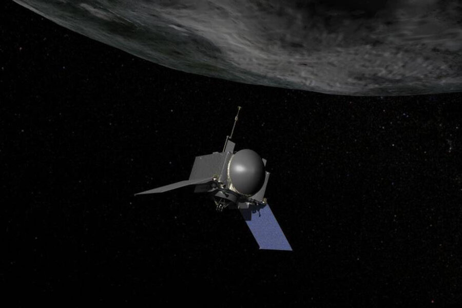 NASA readies for historic mission to asteroid that could someday hit Earth - CSMonitor.com
