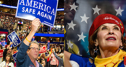 Voices from the Democratic and Republican conventions