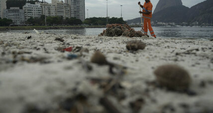 Rio's poor water quality raises concerns for Olympic athletes, tourists