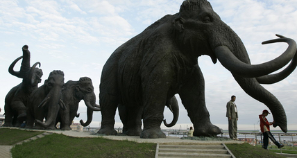 Were the last North American woolly mammoths parched when they died?