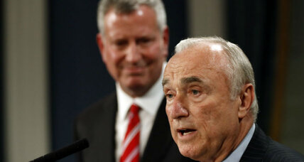 How much did Bill Bratton's policing change New York?