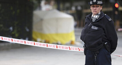 London knife attack comes amid British push to arm more police